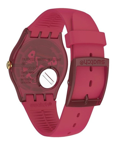reloj swatch ruby rings suop111 - 41 mm - mujer