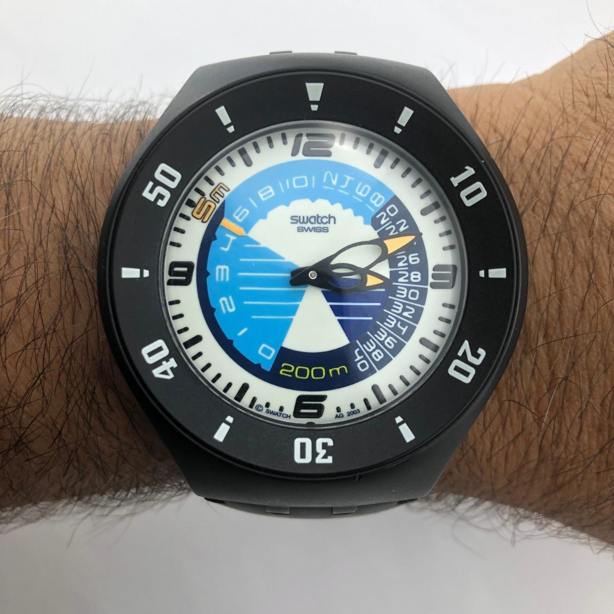 812 Vintag Scuba Quartz15 Swatch De Profundimetro 28 Reloj Coleccion 4L5Ajq3R