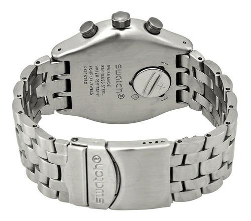 reloj swatch silver again - hombre - yvs447g