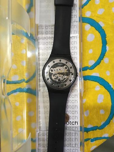 reloj swatch silver glam - suoz147