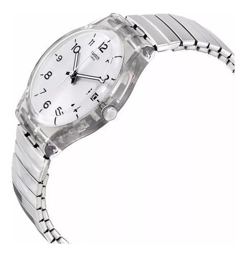 reloj swatch silverall gm416a - talle large 20 cms