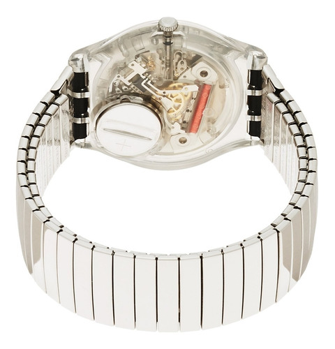 reloj swatch silverall gm416b - talle small 16 cms