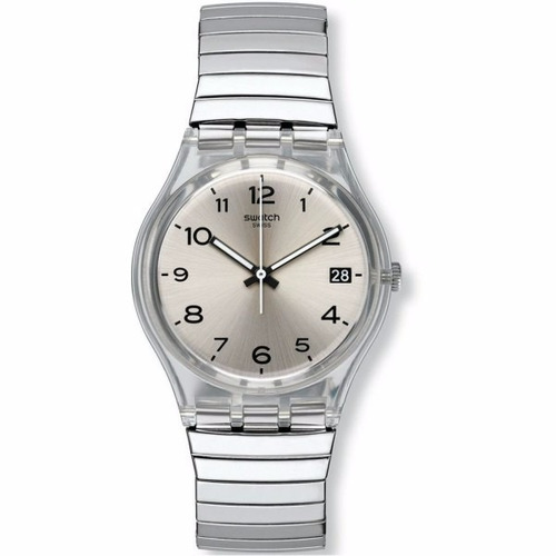 reloj swatch silverall large gm416a | original