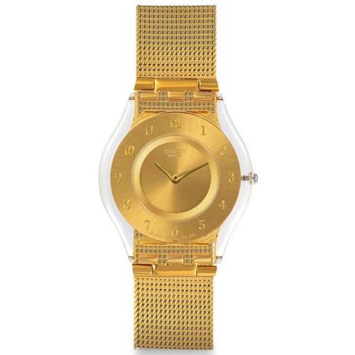reloj swatch skin generosity sfk355m   original envío gratis