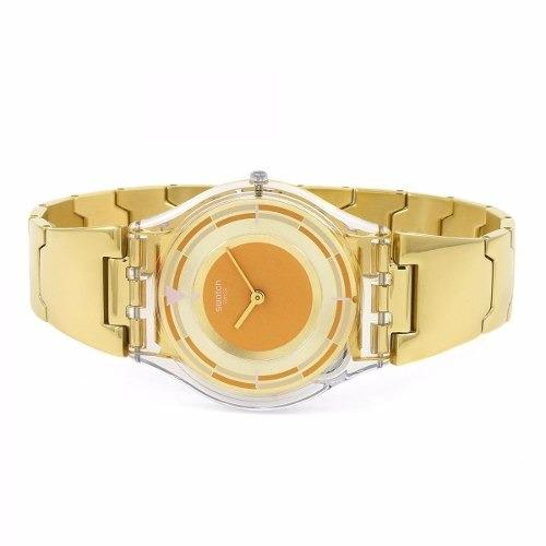 reloj swatch skin schupe sfe104g | original envío gratis
