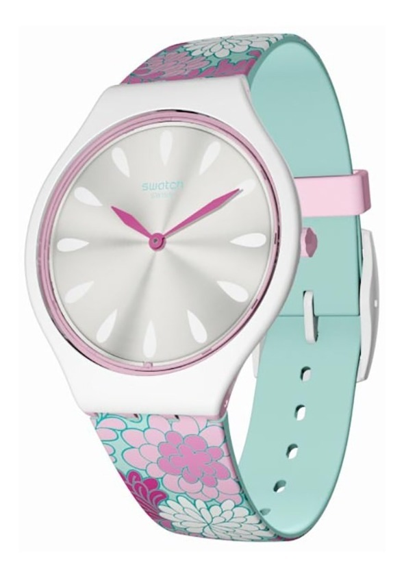 Reloj Swatch Skin Skinpivoine Svoz100 + Monedero De Regalo