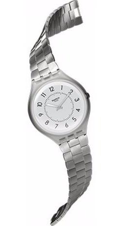 reloj swatch skinsteps svum101g mujer | envío gratis
