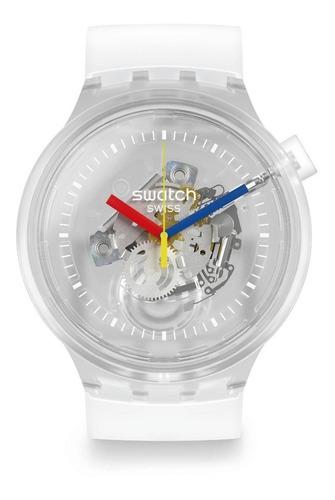 reloj swatch so27e100 big bold jellysfish