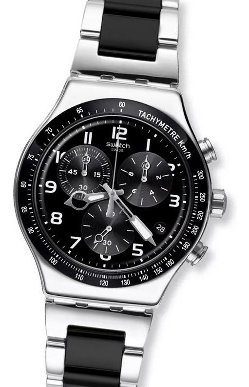 Swatch Reloj Cronografo Up 100Acero Speed Yvs441g 4jLA5R