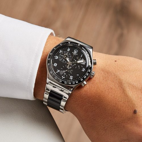reloj swatch speedup hombre cronógrafo