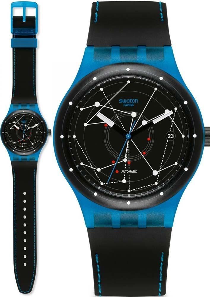 System Azul Original Swatch Reloj Suts401 Blue nN8wOkP0X