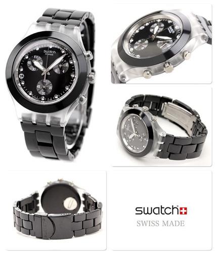 reloj swatch svck4035ag 4044ag 4048ag full blooded