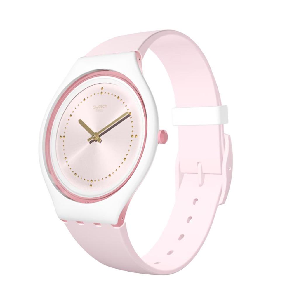 81023f6d9e47 reloj swatch svup101 skin blush dama agente oficial. Cargando zoom.