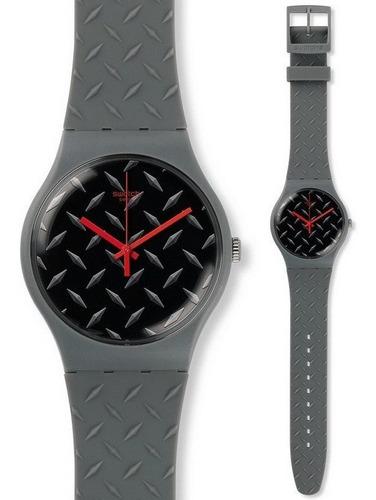 reloj swatch text-ure suom102 unisex agente oficial