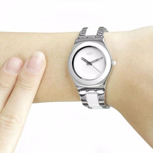 reloj swatch tresor blanc yls141gc | envio gratis