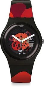 De Silicona Para Tschurtschen Correa Hombre Reloj Hom Swatch 35cq4RjSAL