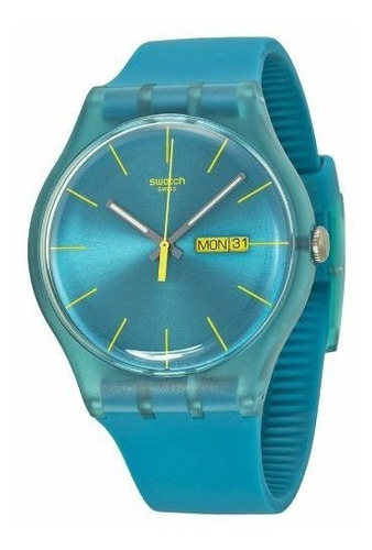 reloj swatch turquoise rebel suol700 | original envío gratis