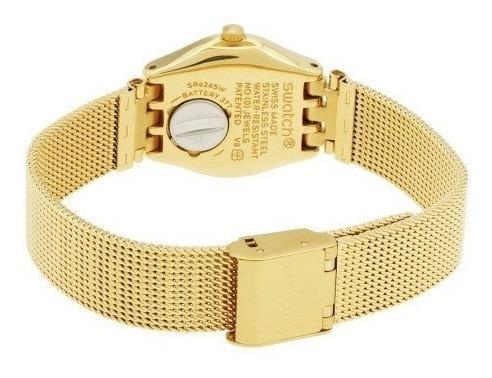 reloj swatch twin pink ysg142m mujer | original envío gratis