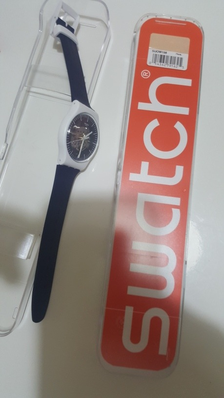 Nuevo Swatch S Original 290 Ultra Usa 00 Plano Reloj hombre Casi Lc3Aq54Rj