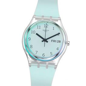Iridiscente Reloj Vidrio Silicona Ge713 Ultraciel Swatch clJK1F