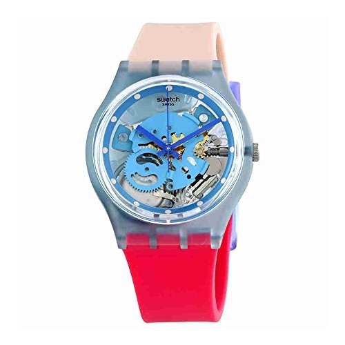 Varigotti Gl118 Reloj Swatch Dial Para Mujer Transparente BsQtdxhrC