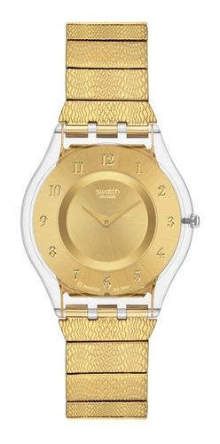 reloj swatch warm glow sfk355g | original envío gratis