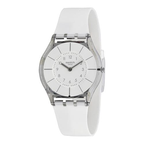 reloj swatch white classiness sfk360 | original envío gratis