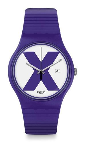 reloj swatch xx-rated purple suov401