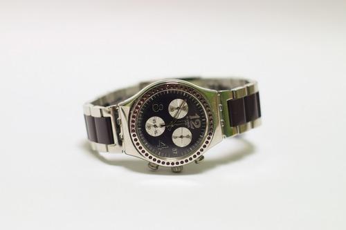 reloj swatch ycs573g - nuevo en caja