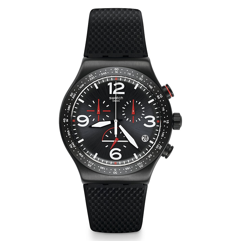Swatch Swatchswatch Is Yvb403 Black Reloj WYbDH29eEI