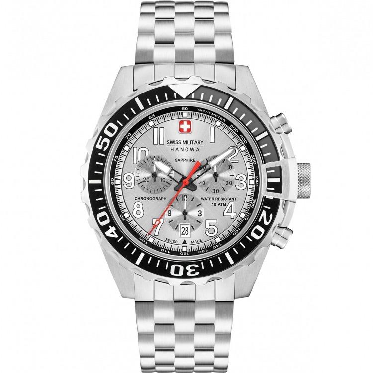 5e0d3f844845 Reloj Swiss Military 06-5304.04.001 Zafiro Crono Acero -   24.100