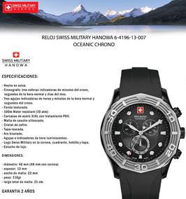 1eb560cbbd4b Swiss Military Hanowa-cristal De Safiro - Relojes en Mercado Libre Chile