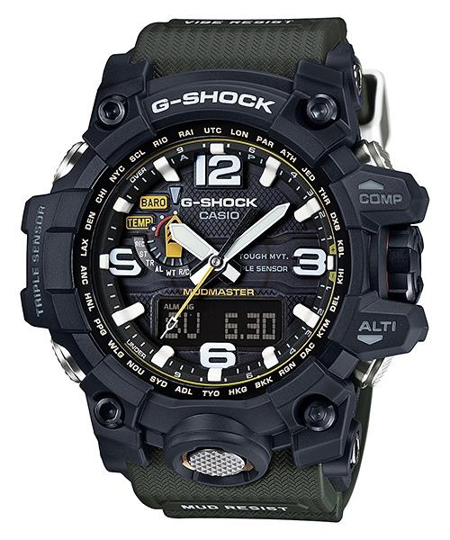 9514adfe9e05 Reloj Táctico Casio G-shock Mudmaster Gwg-1000-1a3 - Rosario ...