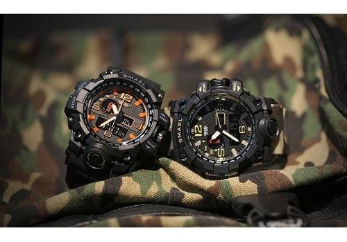 reloj tactico militar smael sumergible camuflado cuota fija