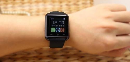 reloj tactil inteligente u8 bluetooth musica sms