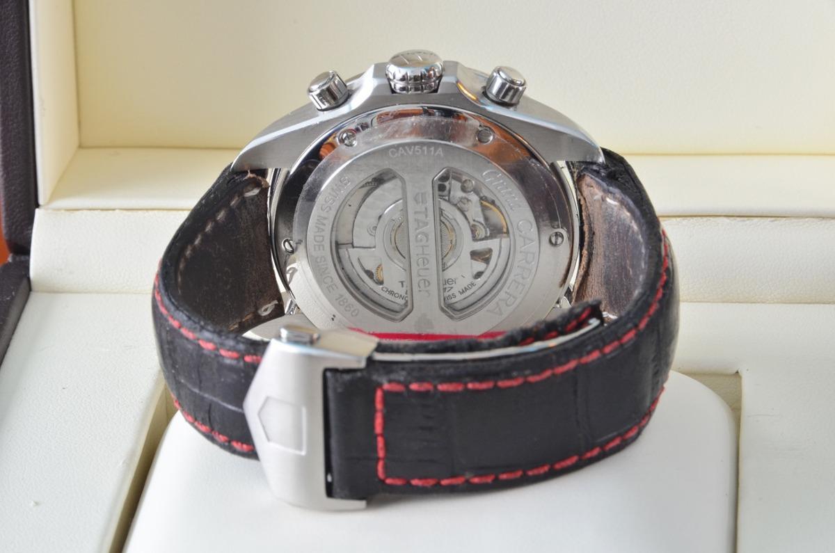 Reloj Tag Heuer Grand Carrera Calibre 17 Rs Automatic