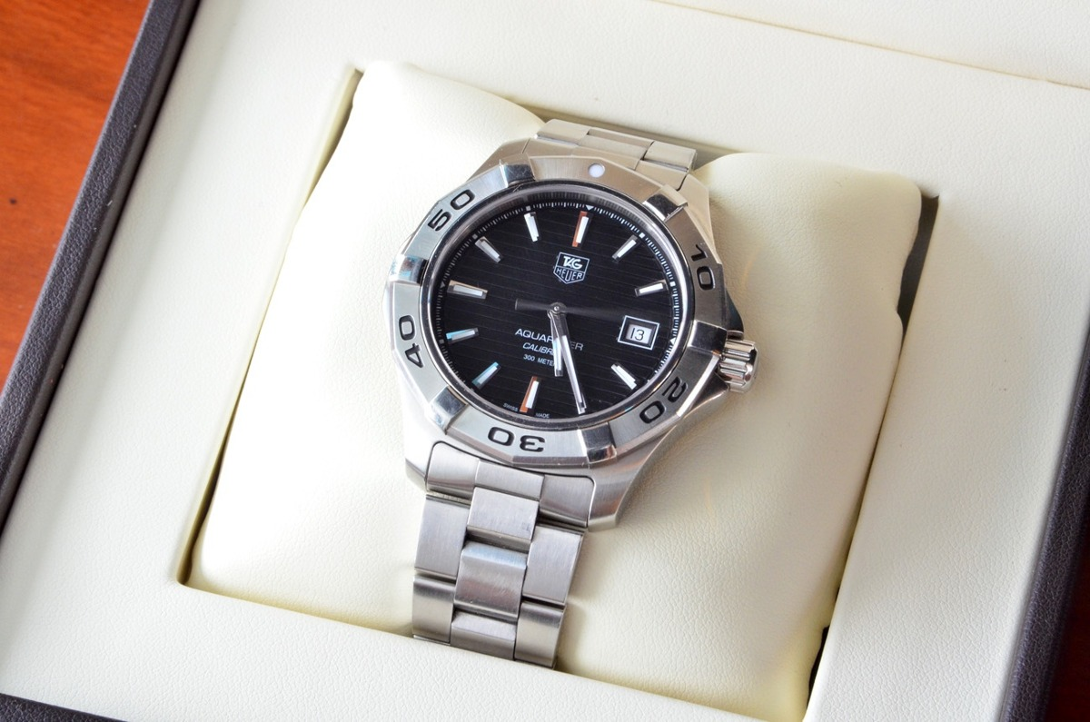 low priced 3450d a5a8a Reloj Tag Heuer Aquaracer 300m Calibre 5 Automatic Wap2010 - $ 18,000.00