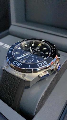 reloj tag heuer aquaracer 300m crono nuevo suizo