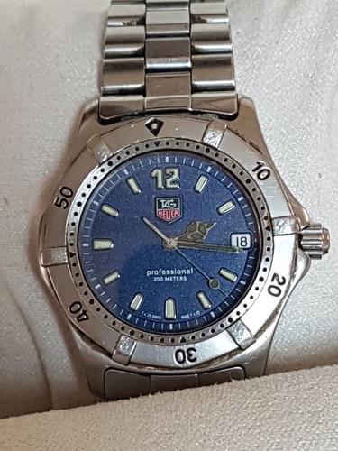reloj tag heuer caratula azul professional  38mm