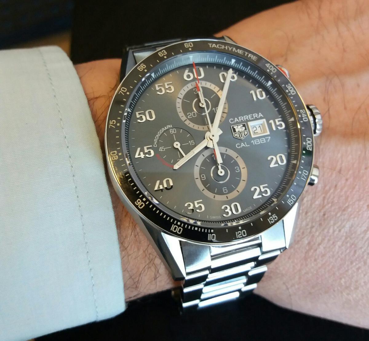 e20b8932e79 Reloj Tag Heuer Carrera Calibre 1887 -   1.980.000 en Mercado Libre