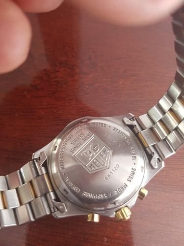 reloj tag heuer ck1120 cristal safiro water resistant 200m
