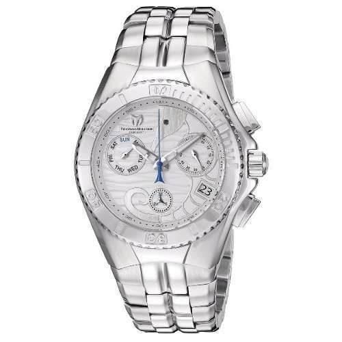 be267cd54be7 Reloj Technomarine Tm-115092 Acero Color Plateado Hombre -   1.799.900 en  Mercado Libre