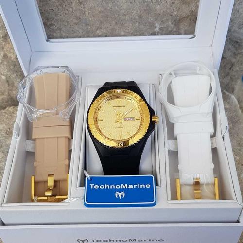 reloj technomarine tm - 115064 46mm