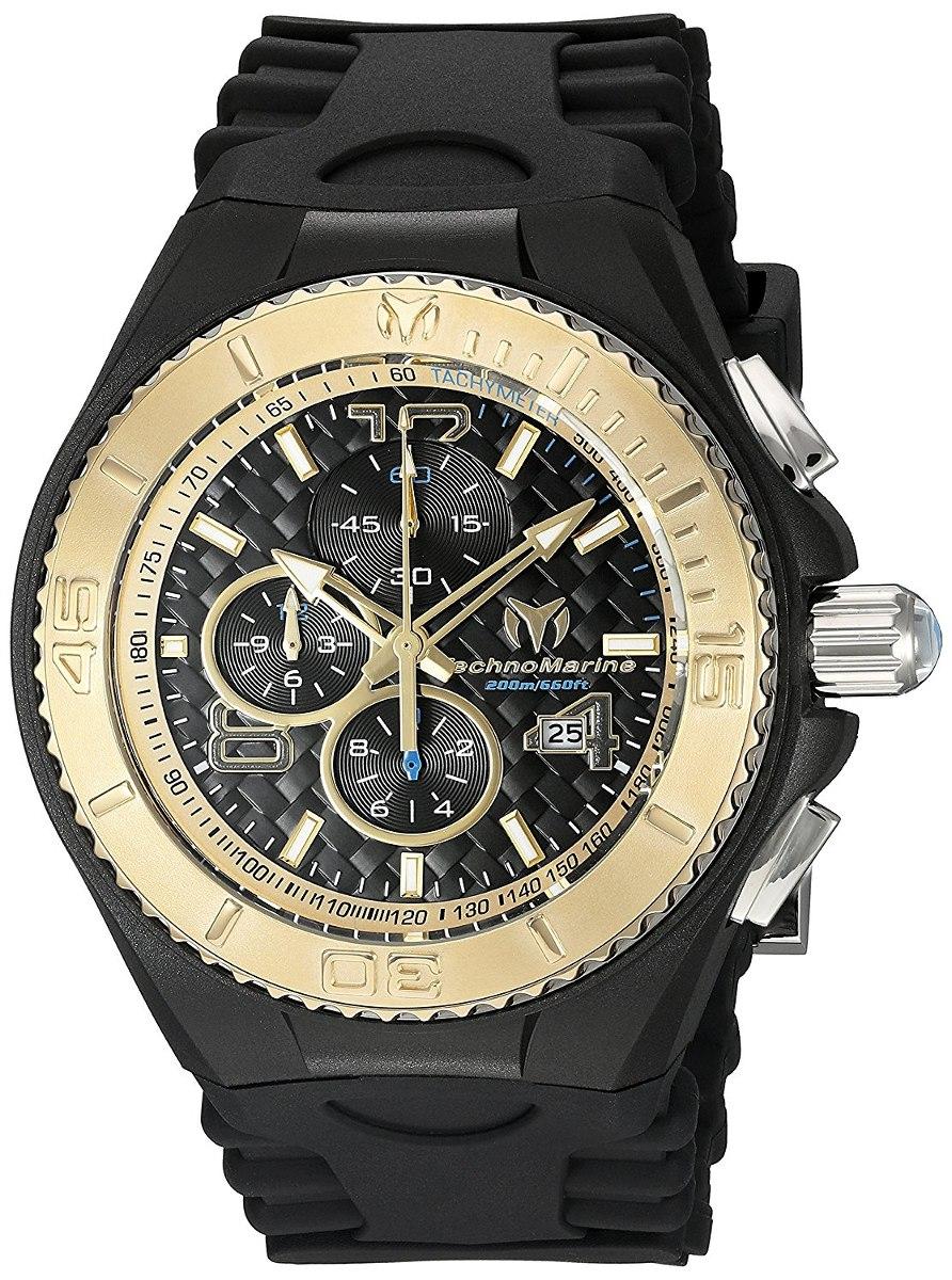 4db52cf969d0 Reloj Technomarine Tm 115111 Negro Dorado Original -   2.200.000 en ...