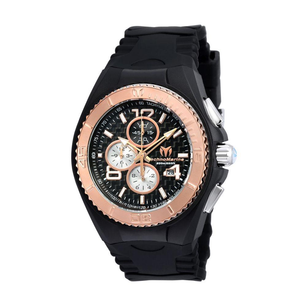 64ee5fac87d8 Reloj Technomarine Tm-115308 Silicone Negro Hombre -   799.900 en Mercado  Libre