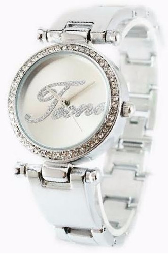 reloj tecno lady glass ii swarovski acero garantia oficial