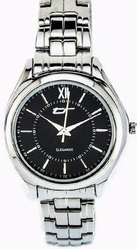reloj tecno sport elegance dama acero garantia oficial 12 m.