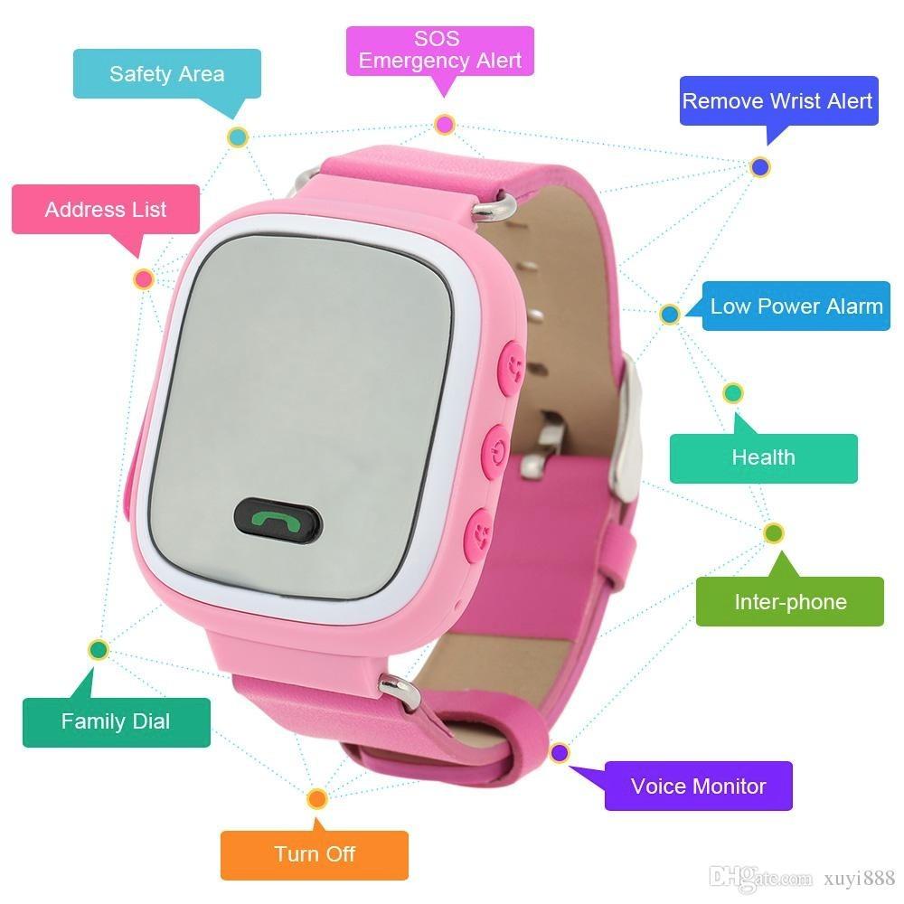 Reloj Teléfono Con Gps Para Niños. Q60 Wonlex -   27.990 en Mercado ... e30ccd70b3be