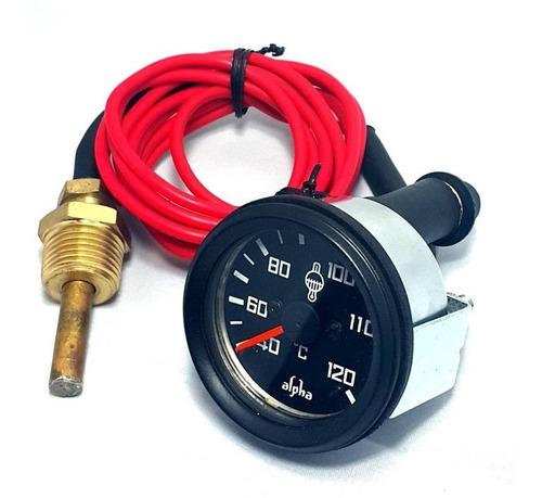 reloj  temperatura agua mecanico cable 3.60mts