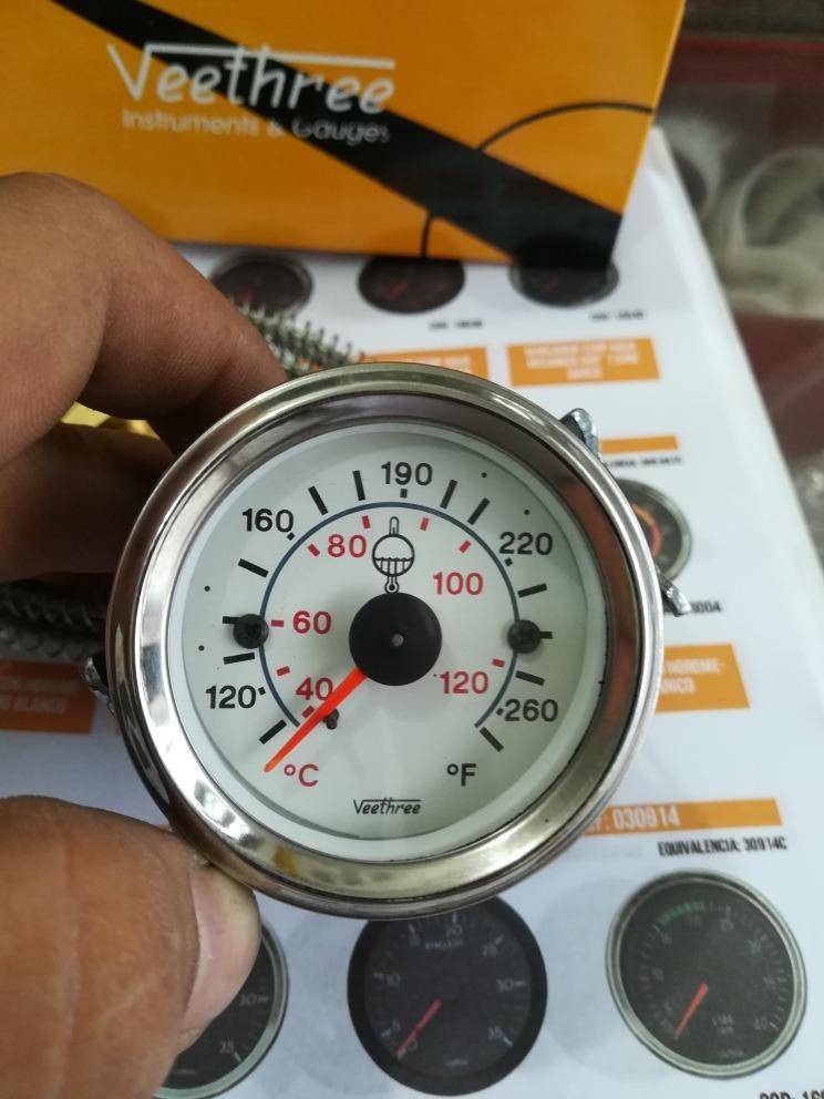 Temperatura normal de un motor diesel